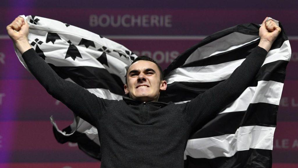 Victoire de Paolo Desbois. Médaille d'or aux olympiades des métiers