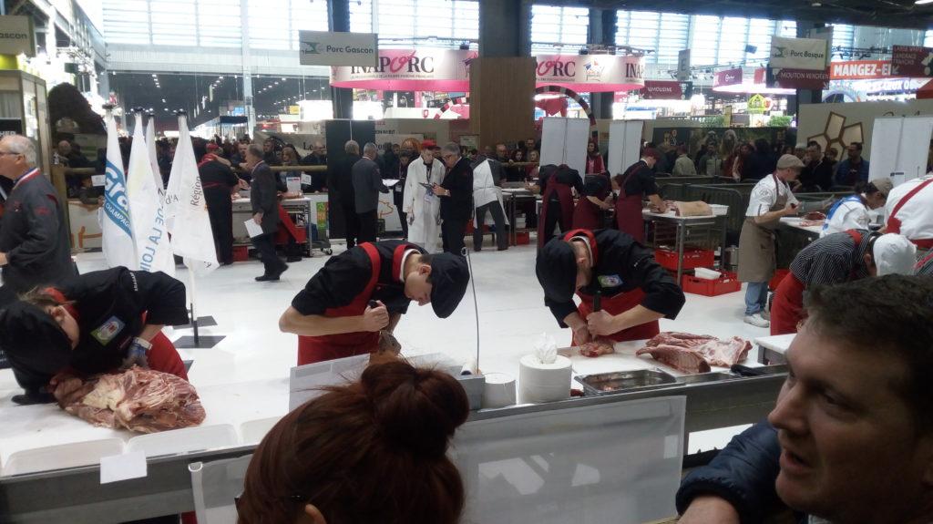 concours Inter Régional Boucherie au Salon de l'Agriculture