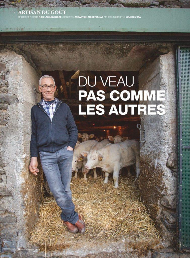 Article magazine Breton en cuisine 1
