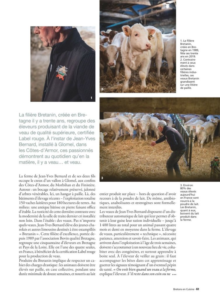 Article magazine Breton en cuisine 2