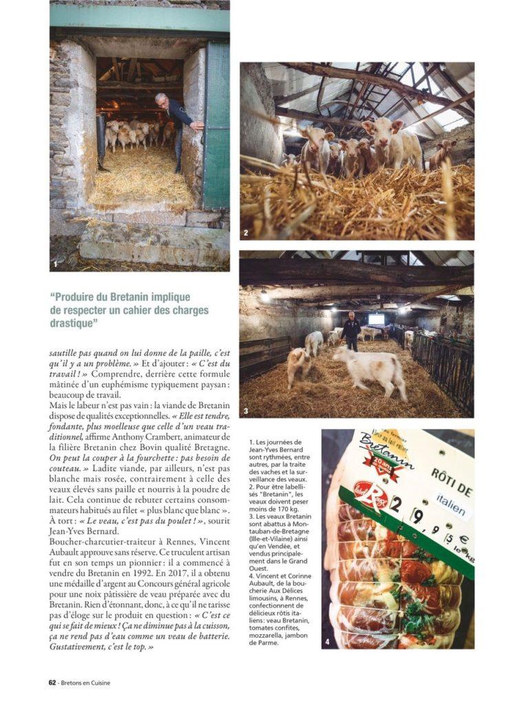 Article magazine Breton en cuisine 3